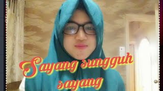 Download lagu Qosidah Sayang sungguh sayang by khani MP3