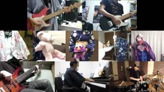 Gambar cover [HD]Hanayamata OP [Hana wa Odore ya Irohaniho] Band cover