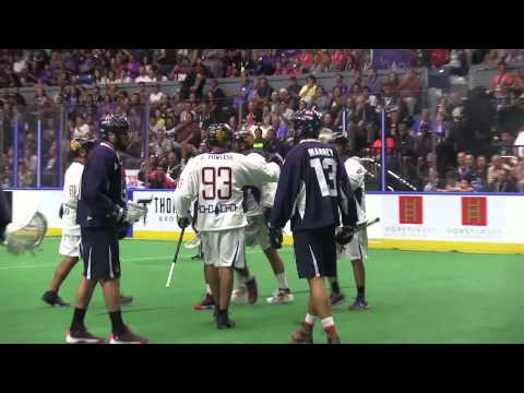 IROQUOIS NATIONALS v TEAM USA Day 1 of WILC 2015 HIGHLIGHTS