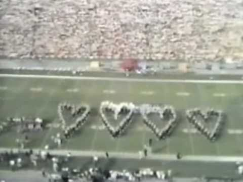 Michigan Band Super Bowl VII halftime 1973 Remaster Part 2 of 2