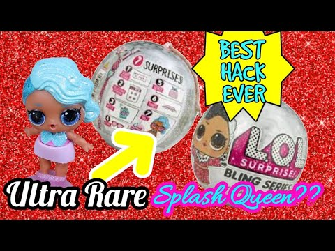 Lol Surprise Bling Series Hack Ultra Rare Holiday Lol Ornament