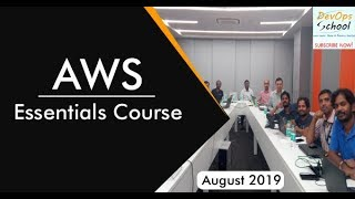 AWS Essentials Course August 2019 by DevOpsSchool