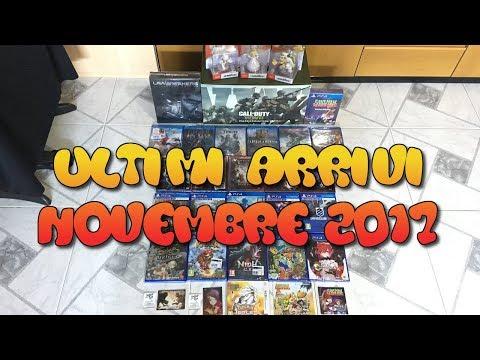 Collezione Videogames: Ultimi Arrivi Nobembre 2017