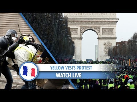 Paris: Yellow Vest protest continues despite government scrapping fuel price hike
