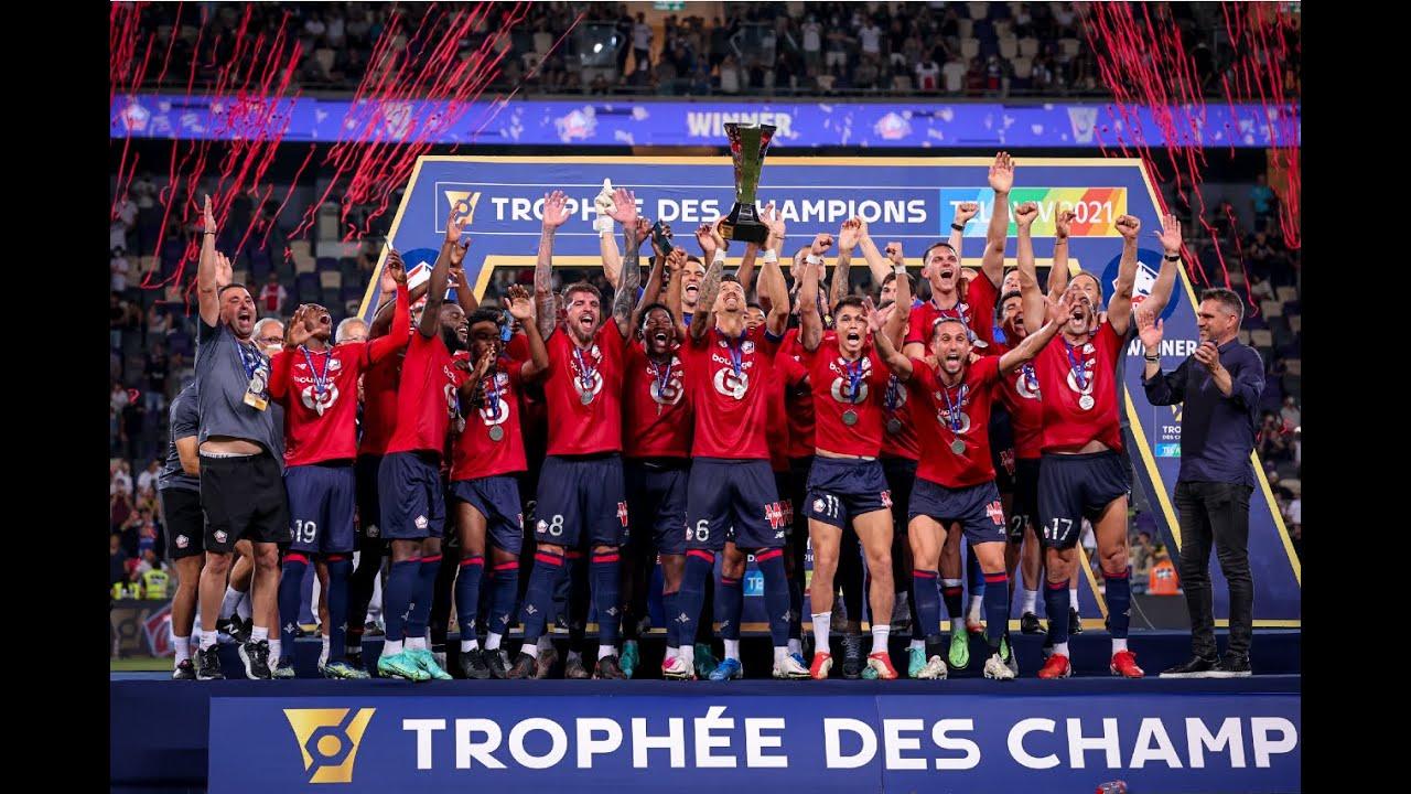 Download LOSC LILLE - PARIS SAINT-GERMAIN (1-0) - Résumé - Trophée des Champions 2021