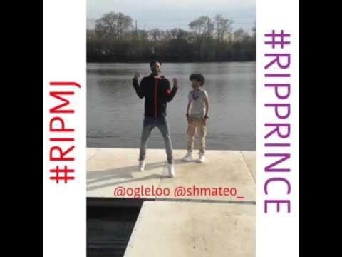 R.I.P MJ &Prince Tribute-@shmateo_,@ogleloo  ||Ayo and Teo||