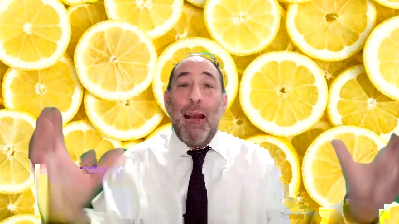 WE LOVE ALL THESE LEMONS.