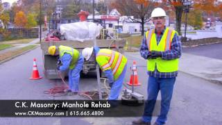 Vacuum Testing Manholes - Leaking or Not? -- a C.K. Masonry Company, Inc. production