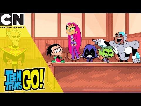 Teen Titans Go! | The Trials Of The Titans | Cartoon Network UK