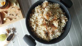 Shahi White Biryani Recipe By Food Fusion