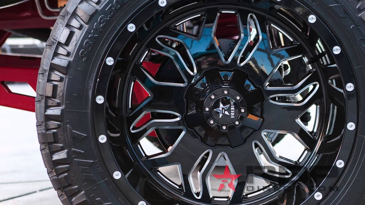 Buy 3 Get 1 Free Tires >> Rolling Big Power RBP Blade Wheels Highlights - AutoCustoms.com - YouTube