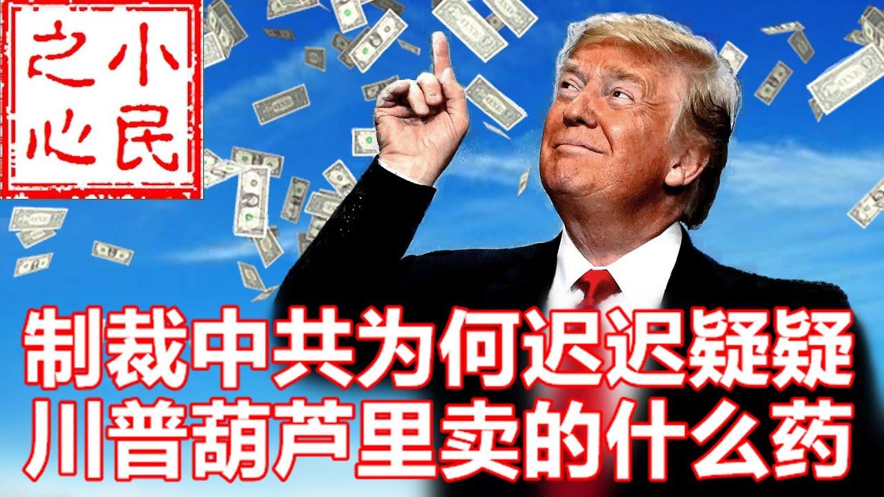 制裁中共为何迟迟疑疑 川普葫芦里卖的什么药 2020.07.08.616