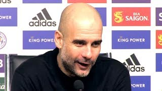 Leicester 0-1 Man City - Pep Guardiola FULL Post Match Press Conference - Premier League