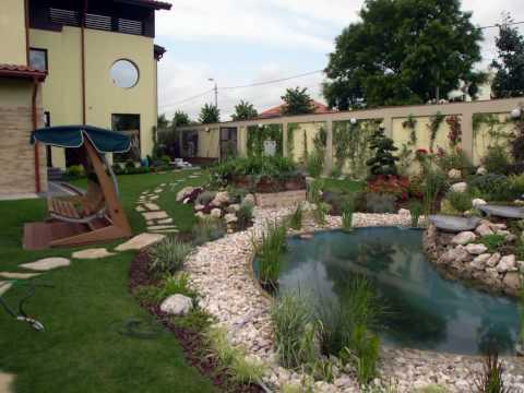 Mobila pentru bucataria case si gradini amenajate - Cat costa o piscina in curte ...