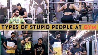 Types of Stupid People at Gym   Desi People   Dheeraj Dixit   Karamjale