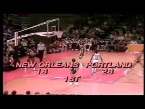 Lionel Hollins: 27 Points Vs New Orleans Jazz (1-8-1978)