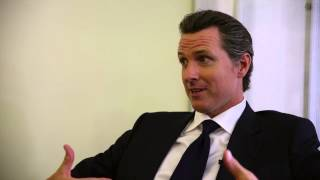Gavin Newsom and Quinn Bradlee Talk Dyslexia