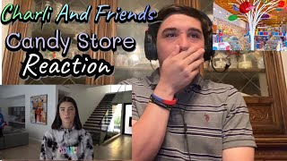 Reaction To Charli D'Amelio And Friends In A Candy Store