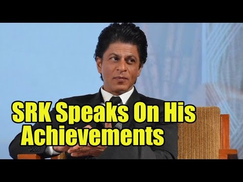 Shah Rukh Khan Says Money, Car And Mannat Are Not His Achievements
