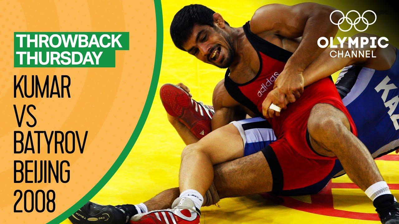 Sushil Kumar vs Albert Batyrov – Men's Freestyle Wrestling at Beijing 2008 | Throwback Thursday
