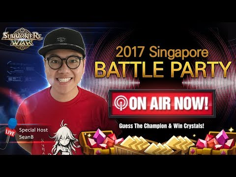 SINGAPORE BATTLE PARTY 2017 - Summoners War RTA Tournament