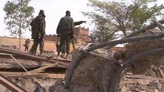 Mali : Konna, ex-bastion des islamistes - 27/01