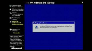Windows 98 Installation in VMware