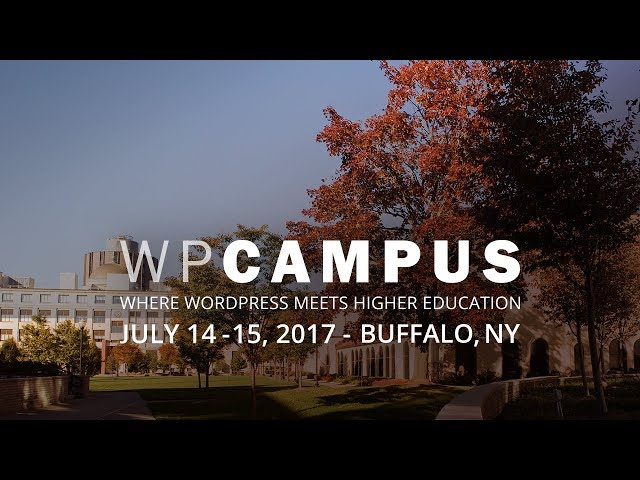 YouTube thumbnail for How to scale WordPress across a university video
