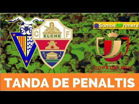 CF Badalona 2 (1) Elche CF 2 (3) | Tanda de Penaltis | Copa del Rey 2017