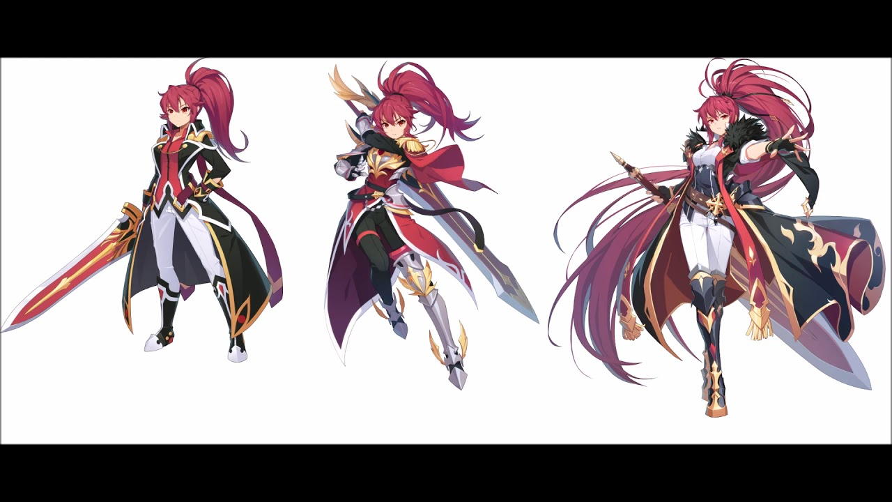 [Grand Chase Dimensional Chaser] Elesis Sieghart - English Voice