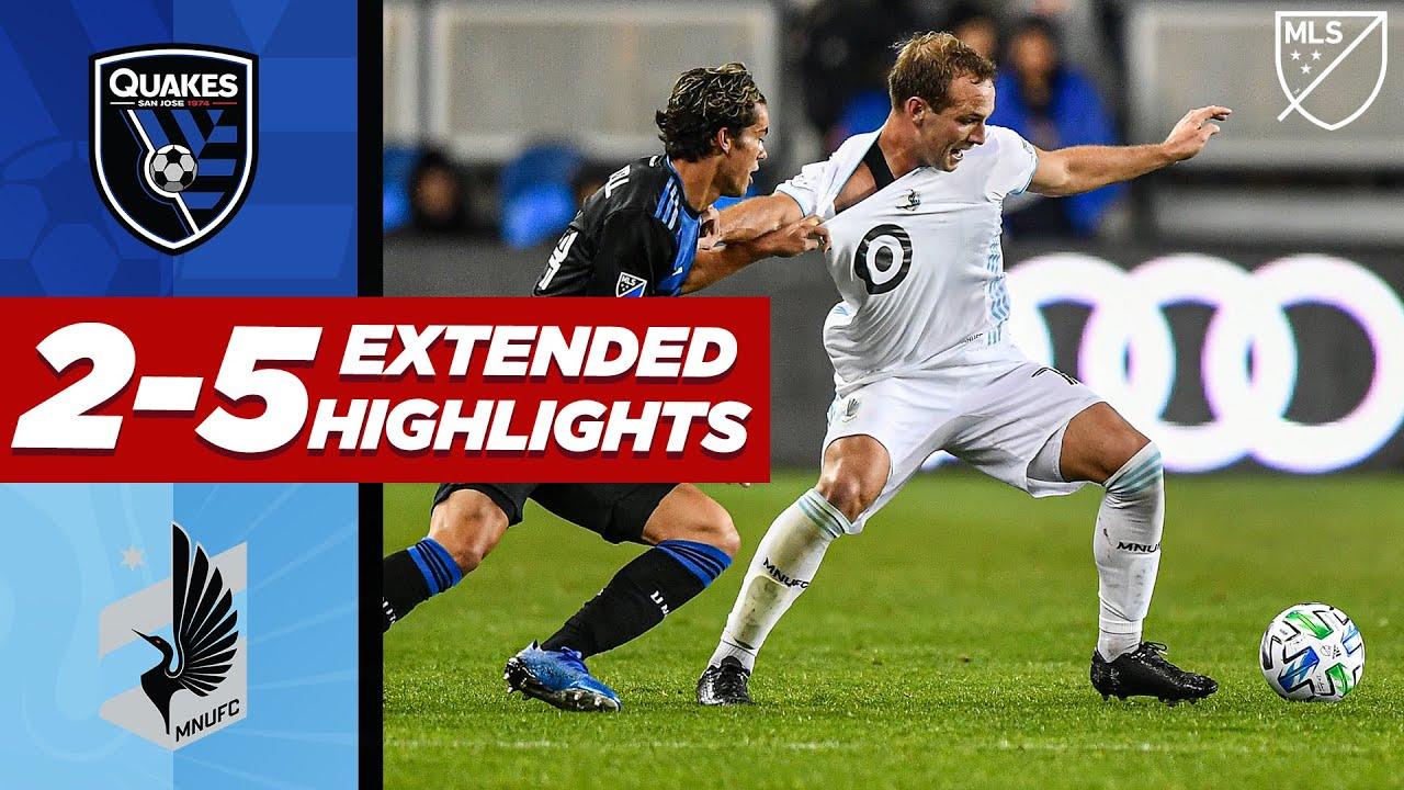San Jose Earthquakes 2-5 Minnesota United FC | SEVEN Goal Thriller! | MLS EXTENDED HIGHLIGHTS
