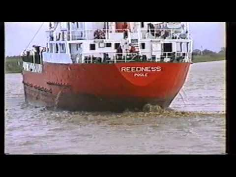 SHIP- DOCKING- GOOLE
