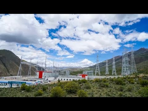 World's highest power transmission project begins operation in Tibet