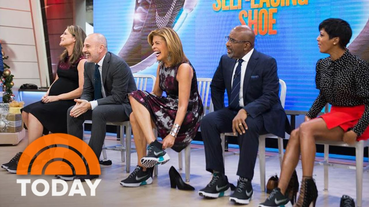 Nike Self-Lacing Shoes Bring 'Back To The Future' To Life | TODAY