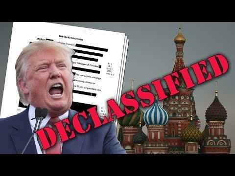 Trump DECLASSIFIES Russia Documents