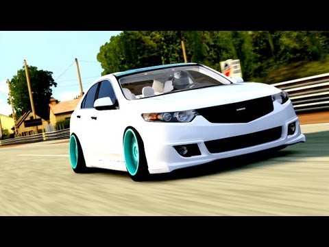 Forza 4 Avery S Dream Vip Stanced Acura Tsx Youtube