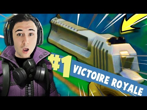 TOP #1 AVEC LA NOUVELLE ARME LEGENDAIRE ! ► Fortnite: Battle Royale (Saison 3)