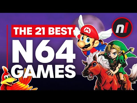 The 21 Best Nintendo 64 (N64) Games Of All Time