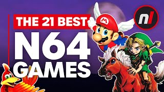 The 21 Best Ninтendo 64 (N64) Games of All Time