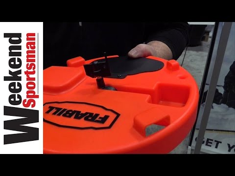 Round Frabill Tip Up Usage Tips For Panfish Or Pikes | Weekend Sportsman | #Frabill_Inc