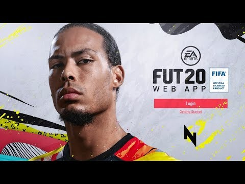 FIFA 20 WEB APP IS RELEASED! - FIFA 20 Ultimate Team