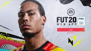FIFA 20 WEB APP IS RELEASED! - FIFA 20 Ultimate Team