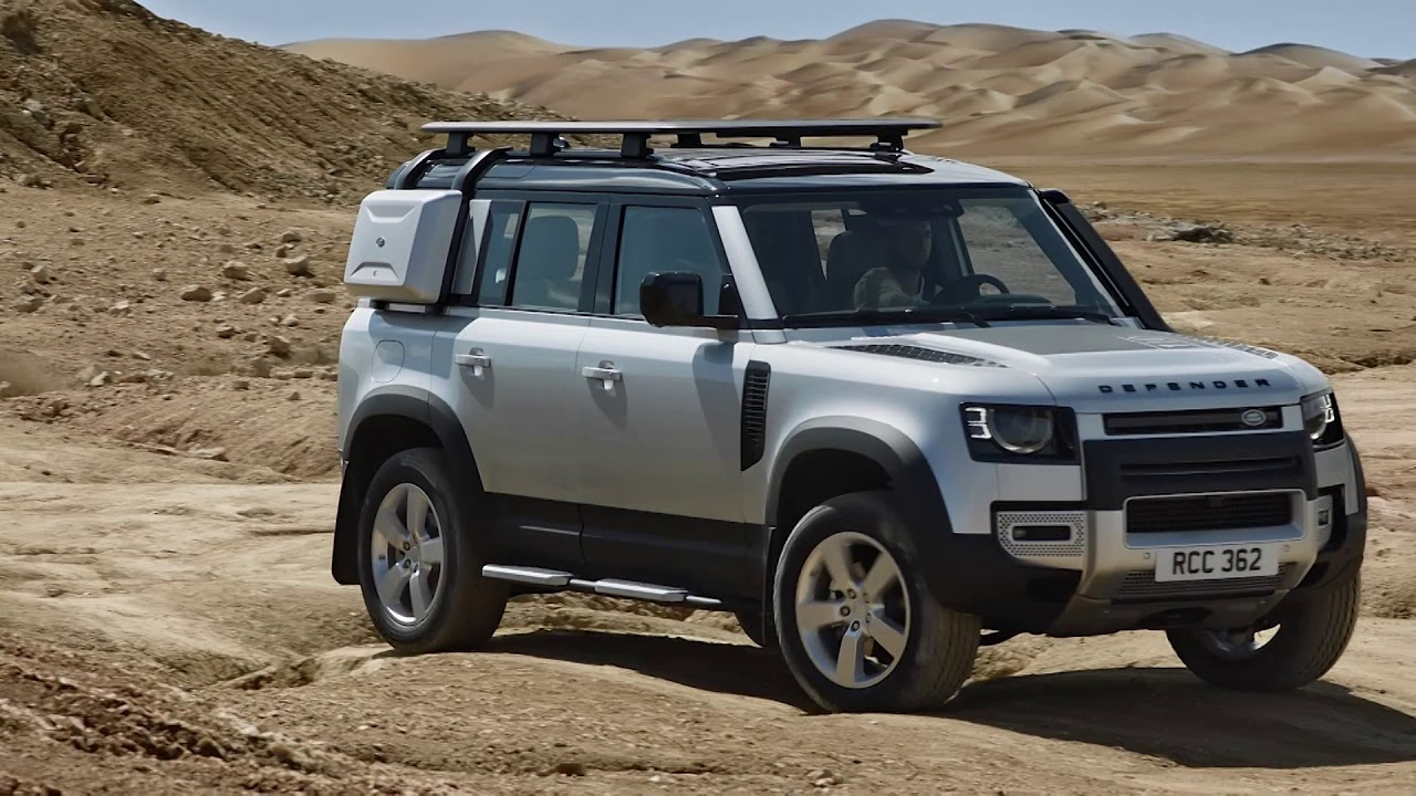 Novi Land Rover Defender - YouTube