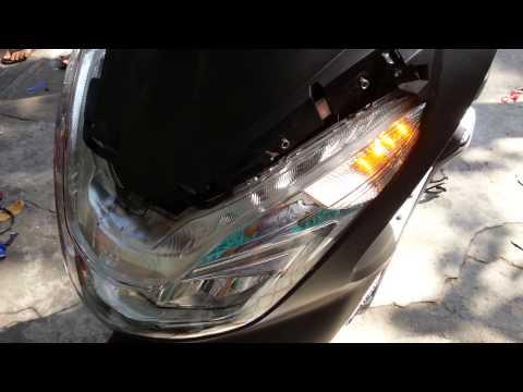 Độ xi nhan kêu tính tong cho xe PCX 2014