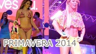 PRIMAVERA, desfile Plaza Lima Sur_ 2014, Cachaza ,Korina Rivadeneira,Cindy Dávila