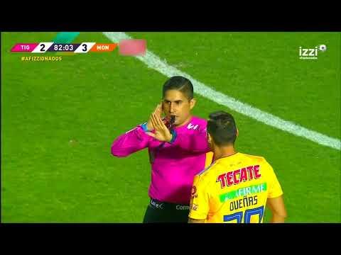 Gol de E. Vargas | Tigres UANL 3 - 3 Morelia | LIGA Bancomer MX - Clausura 2019  - Jornada 15