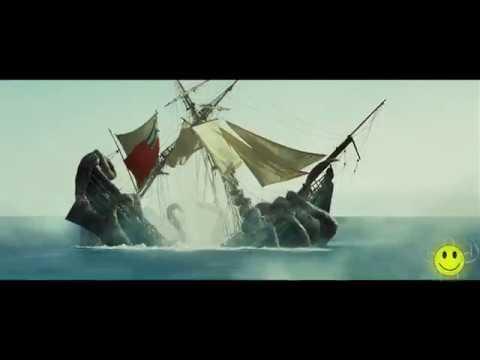 pirates of the caribbean kraken scene