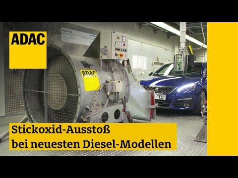 Stickoxid-Ausstoß Bei Neuesten Diesel-Modellen I ADAC 2018