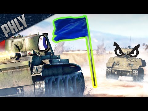 My MOST KILLS EVER 15+ - Capture The Flag Event (War Thunder Tank Gameplay)