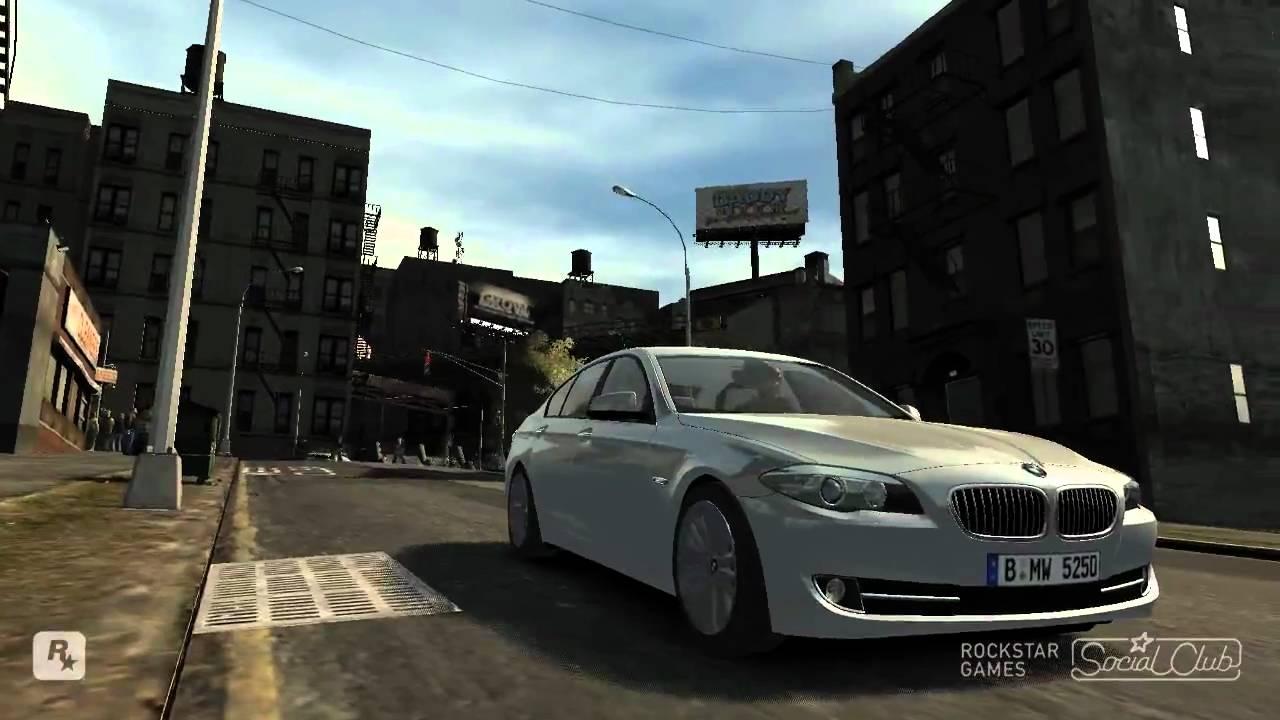 Gta IV car BMW 535 (F10) Visual IV + ENB 0 79